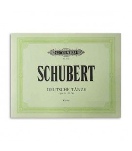 Edition Peters Book Schubert Opus 33 Deutche Taenze EP5600