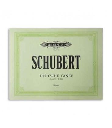 Cover of book German Dances Opus 33 Schubert