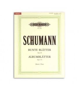 Schumann Album Leaves Opus 124 Edition Peters