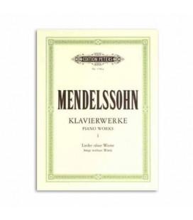 Mendelssohn Piano Works Volume 1 Peters