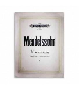 Edition Peters Book Mendelssohn Piano Works Volume 2 EP1704B