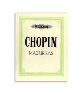 Edition Peters Book Chopin Mazurkas EP1902