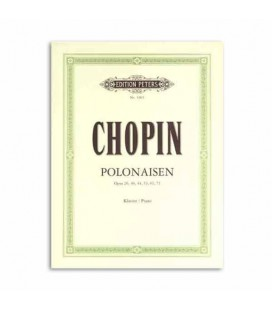 Edition Peters Book Chopin Polonaises EP1903