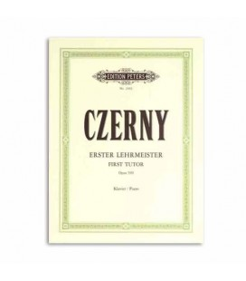 Edition Peters Book Czerny 1st Tutor 100 Exercises Opus 599 EP2402