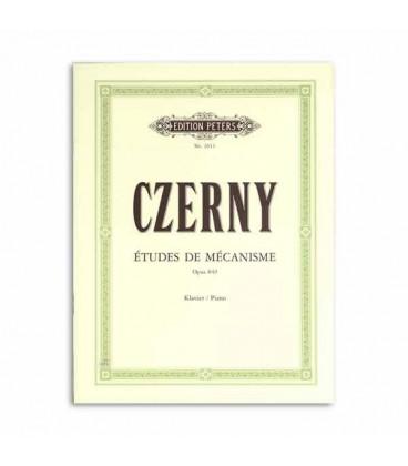 Czerny �tudes de M辿canisme Op 849 Peters