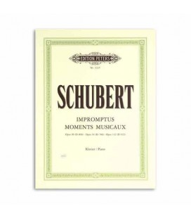 Edition Peters Book Schubert Musical Moments Op 90 94 142 EP323