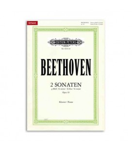 Beethoven Sonatas G minor G Major Opus 49 and 20 Editions Peters