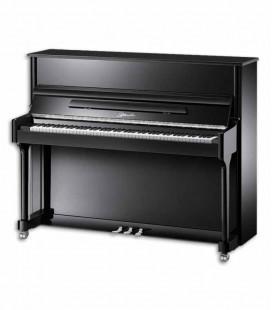 Ritmuller Upright Piano AEU118S PE Classic 118cm Black Polish 3 Pedals