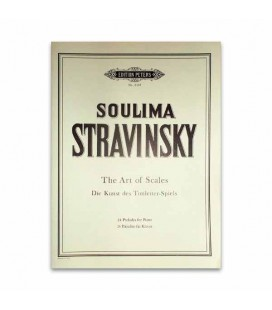 Stravinsky 24 Preludes for Piano Edition Peters