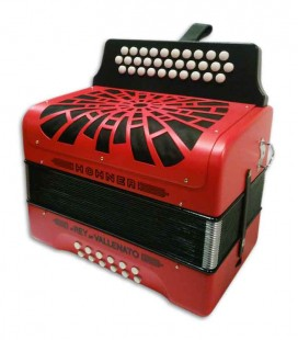 Backpack wings for the Concertina Hohner El Rey del Vallenato case