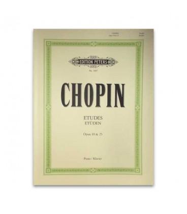 Chopin Estudos Opus 10 Peters