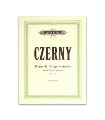 Czerny Art of Fingers Dextery Opus 740 Peters