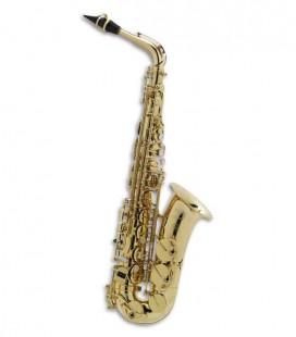 Saxofone Alto Selmer Axos Seles Mi Bemol C Fá sustenido Agudo com Estojo