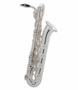 Baritone Saxophone Selmer Super Action 80 II Silver with Case