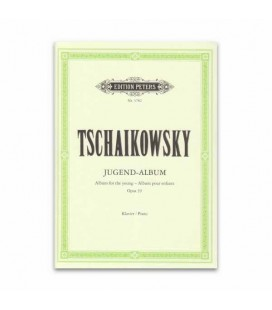 Tchaikovsky Album for Young People Opus 39 Edition Peters