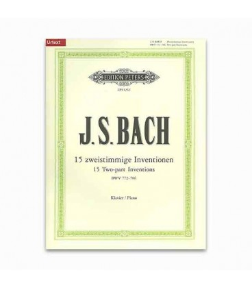 Bach 2 Voices Inventions Peters