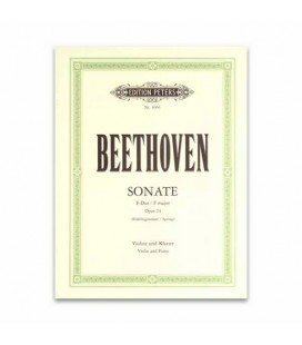 Beethoven Spring Sonata Opus 24 Edition Peters