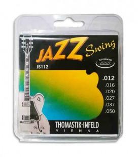 String Set Thomastik 012 Jazz Swing Electric Guitar JS 112