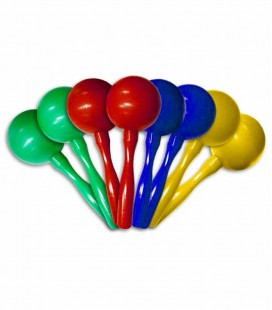 Photo of the Maracas Goldon model 33770 many colors