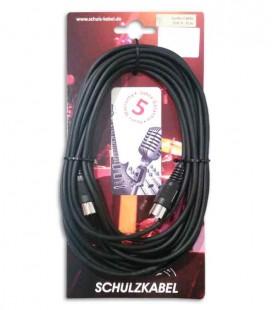 Midi Cable Schulz DIN 3  6m