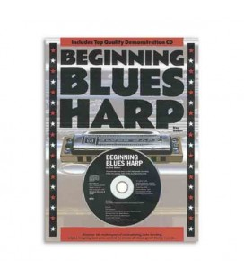 Beginning Blues Harp Book CD