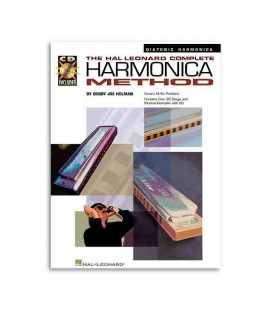Music Sales Book Complete Harmonica Method Diatonic Book CD HL00841285