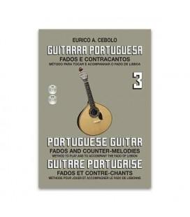 Eurico Cebolo Book M辿todo Guitarra Portuguesa 3 with CD GP3