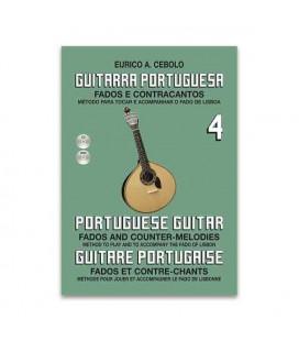 Eurico Cebolo Book M辿todo Portuguese Guitar with CD GP4