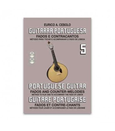 Eurico Cebolo GP5 Method Portuguese Guitar with CD