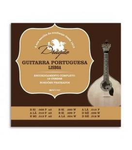 Portuguese Guitar String Set Drag達o 003 12 Strings Lisboa Tuning