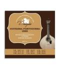 Package of string set Drag達o 003 for portuguese guitar