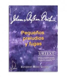 Livro Bach Pequenos Prelúdios y Fugas EMC341252