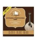String Set Drag達o 073 Portuguese Guitar Lisbon Tuning Stainless Steel