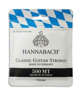 Hannabach Classical Guitar String Set 500MT Medium Tension