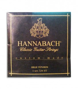 Hannabach Classical Guitar String Set E728HT High Tension
