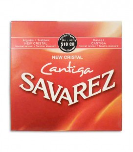 Savarez Classical Guitar String Set 500 CR New Crystal Cantiga Normal Tension