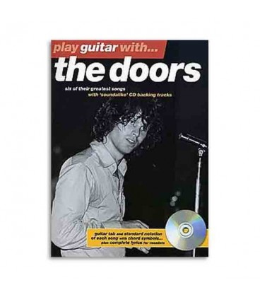 Music Sales Book Play guitar with Doors AM972774