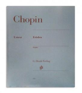 Livro Chopin Et端den Opus 10 and 25 HN124