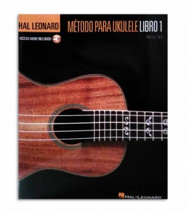 Back cover of book Hal Leonard M辿todo para Ukulele Volume 1