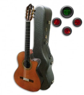 Alhambra Classical Guitar 9P CW E8 Equalizer Cedar Rosewood with Case