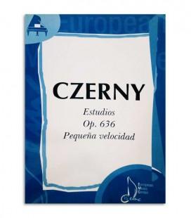 Book Czerny Estudios de Pequeña Velocidad Opus 636 EMC341226