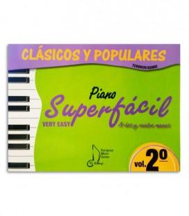 Book Cl叩sicos y Populares para Piano Super F叩cil Vol 2 EMC341235