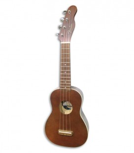 Soprano Ukulele Fender Venice Natural Walnut