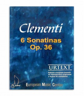 Book Clementi 6 Sonatinas Op 36 EMC341255