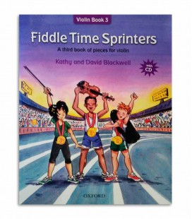 Blackwell Fiddle Time Sprinters Book 3 with CD