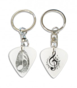 Keychain Collection Flat Pick Acrylic