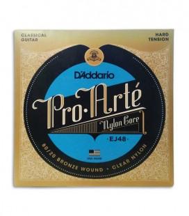 String Set Daddário EJ48 for Classical Guitar Heavy Tension