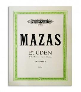 Mazas Etuden Opus 36 Violin Peters