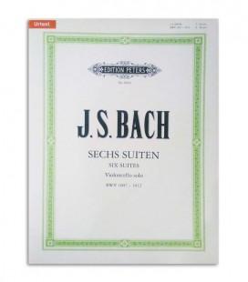 Bach 6 Suites Cello Solo BWV 1007 1012 Peters