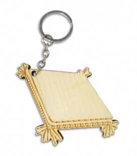 Portwood Key Chain PC028 Saxophone